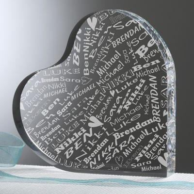 Her Heart Of Love Personalized Keepsake