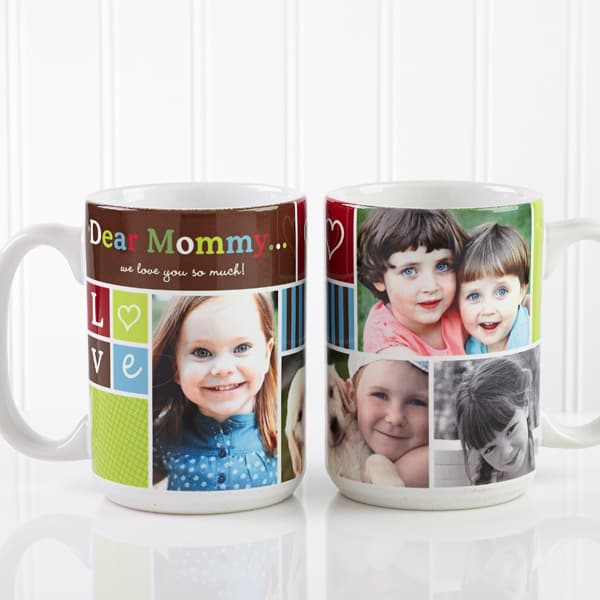 Personalized Picture Collage Coffee Mug