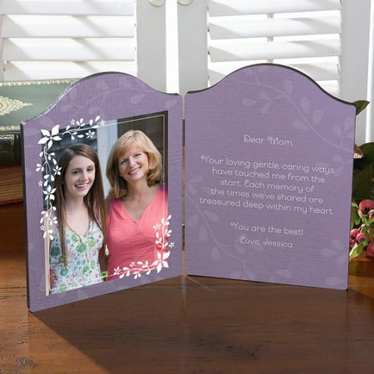 What You Mean To Me Personalized Photo Plaque