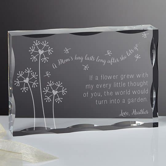 A Mom's Hug Personalized Keepsake