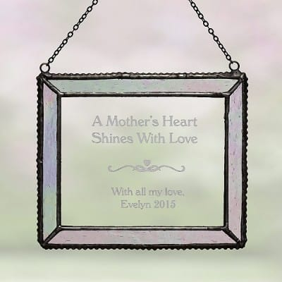 Her Shining Love Personalized Suncatcher