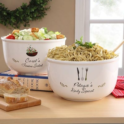 Personalized Special Dish Serving Bowl