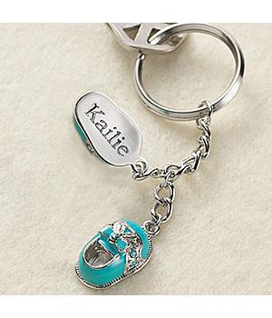 Baby Shoes Keychain