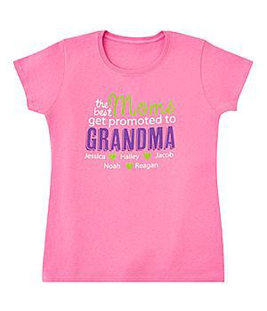 Best Moms Get Promoted T-Shirt