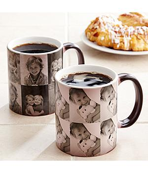 Color Changing Photo Mug - Color or Black & White