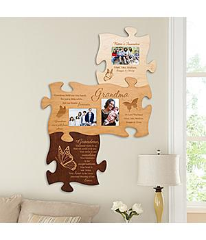 Grandma Puzzle Wall Plaque