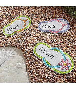Mosaic Flip Flop Stepping Stone