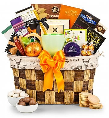 Mother's Day Breakfast Gift Baskets - Spoil Mom this year with a decadent breakfast gift basket!