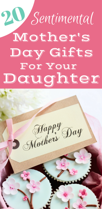 Looking for the perfect Mother's Day gift for your daughter? Shop this fabulous collection of 20 sweet Mother's Day gifts for your daughter!