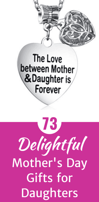 Mother's Day Gifts for Daughters - Looking for a sweet way to tell your daughter how much you love her this Mother's Day? Shop 73 delightful Mother's Day gifts for daughters.