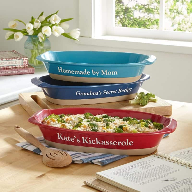 Stoneware Casserole Dishes