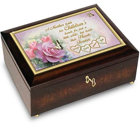 Mother's Day Gifts from Daughter 2017 - Beautiful personalized music box that plays