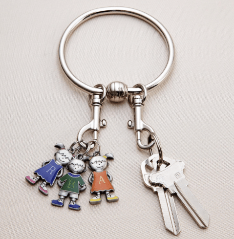 Character Charm Key Ring