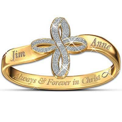 Thomas Kinkade Personalized Ring: Always & Forever In Christ