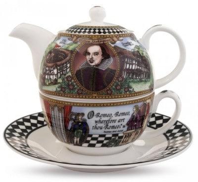 Shakespeare Teapot Set for One