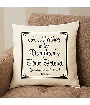 First Memories Pillow for Mom