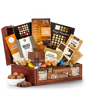 Grand Chocolate Keepsake Chest
