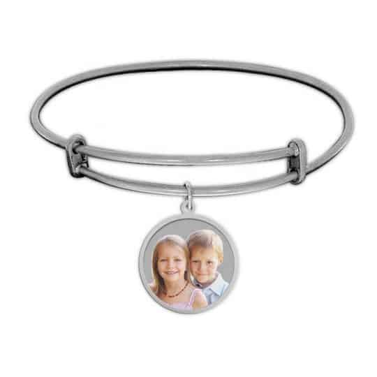 Photo Charm Bracelet - Silver or Gold