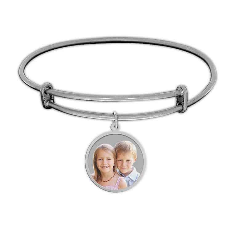 Photo Charm Bracelet - Silver or Gold