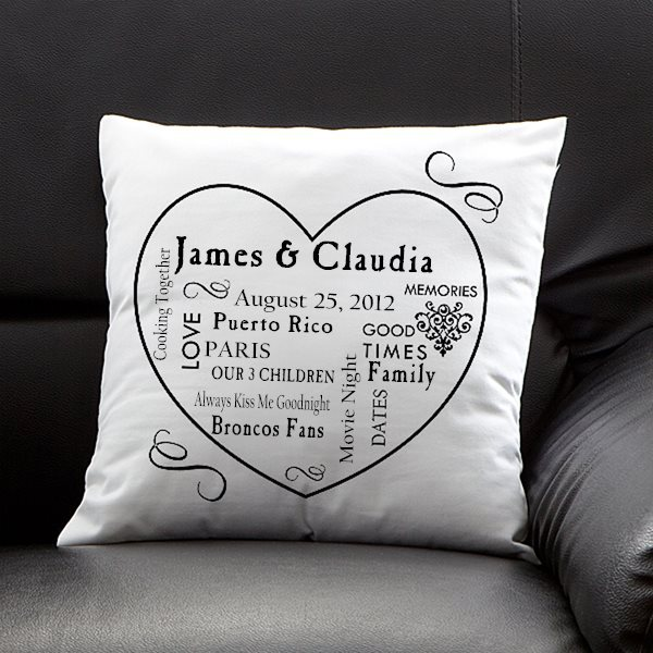 Personalized Our Life Together Pillow