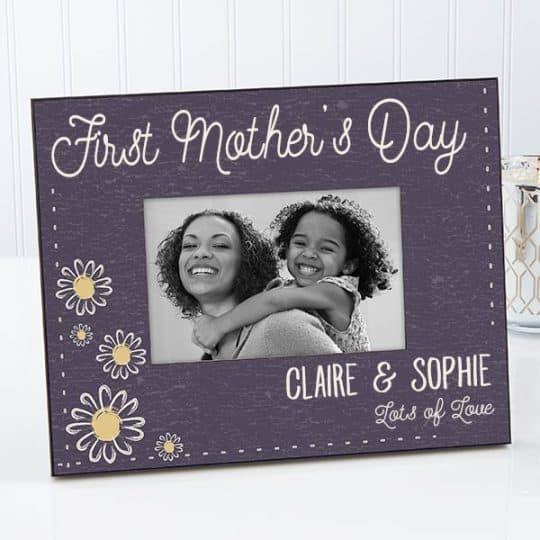 Floral First Mother's Day Frame