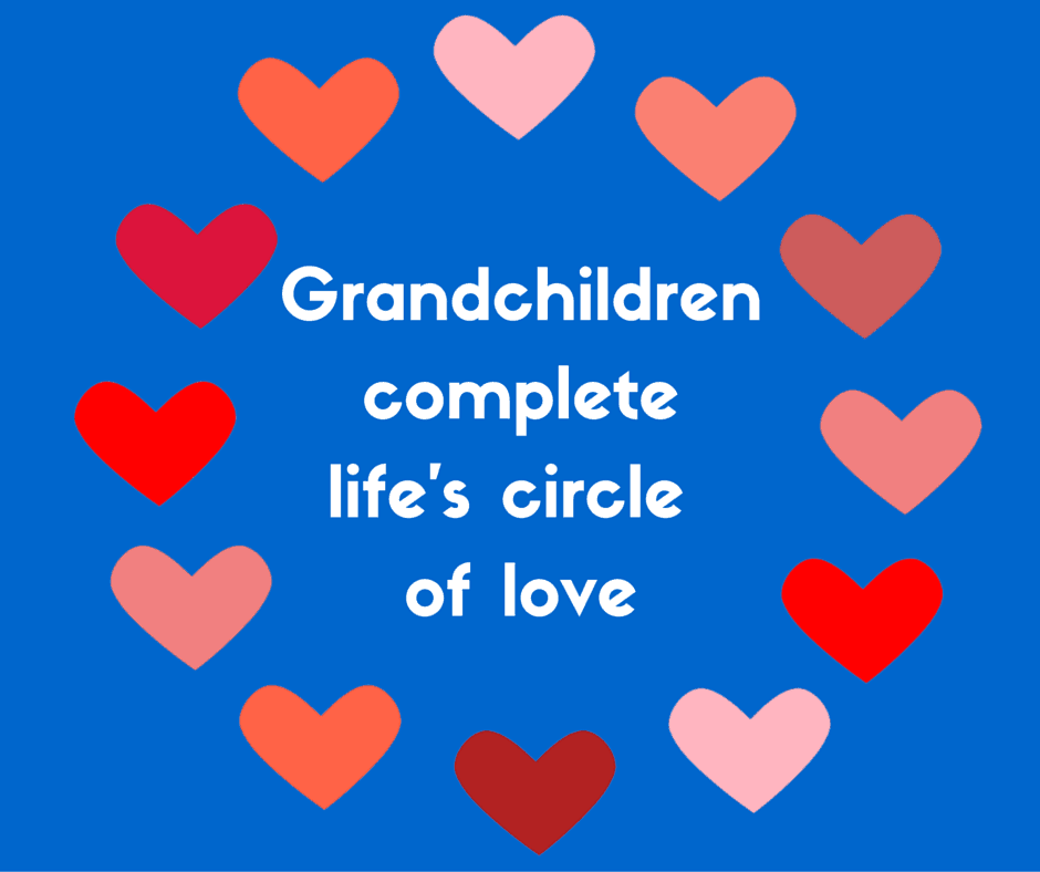 Grandchildren complete life's circle of love