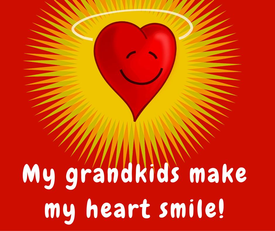 My Grandkids make my heart smile!