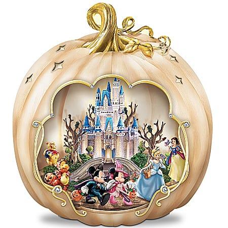 Disney's Spook-tacular: Halloween-Themed Pumpkin Tabletop Centerpiece