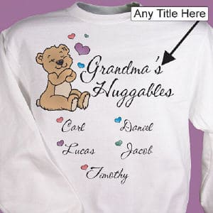 Show off your kids and grandkids with this delightful shirt