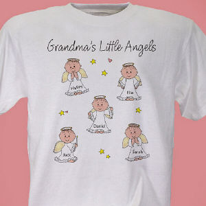Your precious little angels keep Grandma