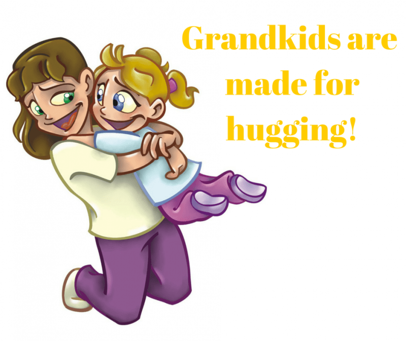 Grandkids are made for hugging!