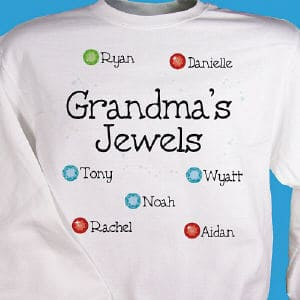 All of your beautiful children have their own special birthstone to mark the day of their birth!  <br/><br/>Personalize with any title and up to twelve names