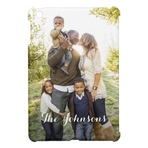 Personalized iPad Case