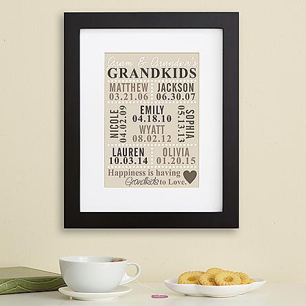 Happiness Is Having Grandkids to Love Print