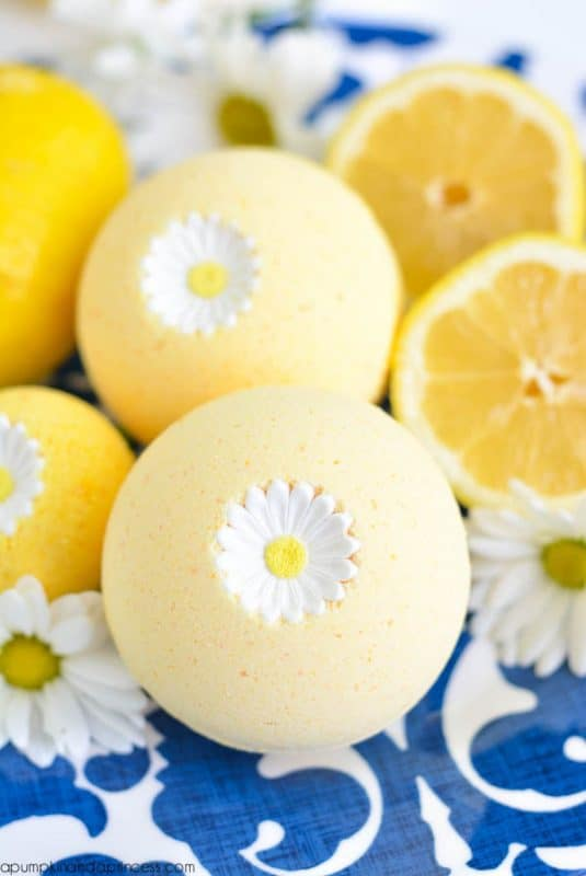 These homemade bath bombs are almost too pretty to use!