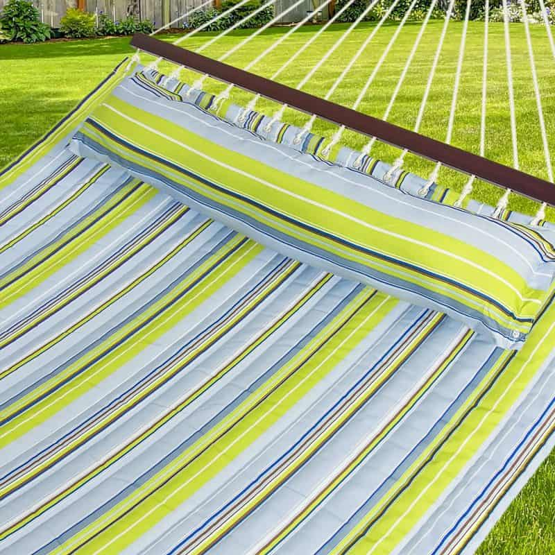 Best Mothers Day Gifts for the Wife Who Loves to Be Outdoors - she'll love chilling in this oversized hammock!