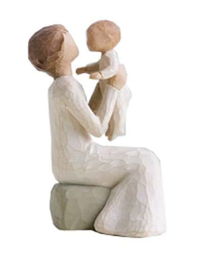 Looking for a sentimental Mother's Day gift for your grandmother?  Sweet Willow Tree figurines are a beautiful representation of the special bond between a grandmother and her grandchildren.