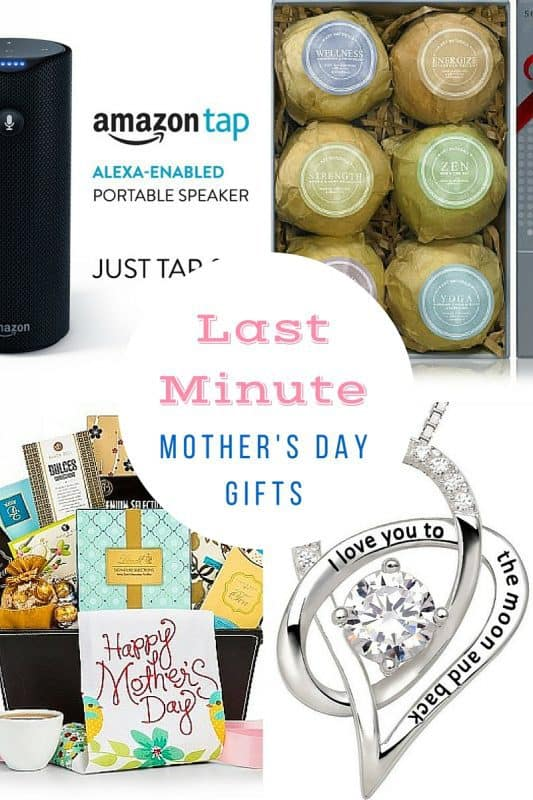 Last Minute Mother's Day Gifts 2017