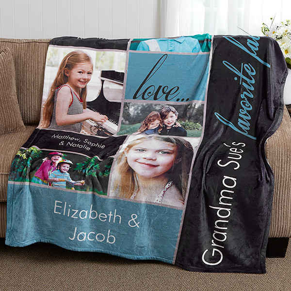 Favorite Faces Photo Blanket