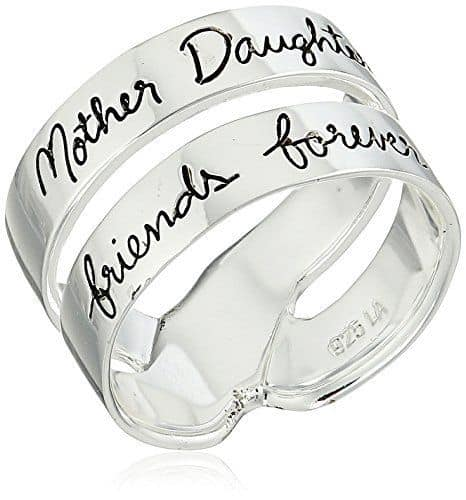 Mother Daughter Friends Forever Ring - What a sweet way to celebrate the special bond between a mother and her daughter!