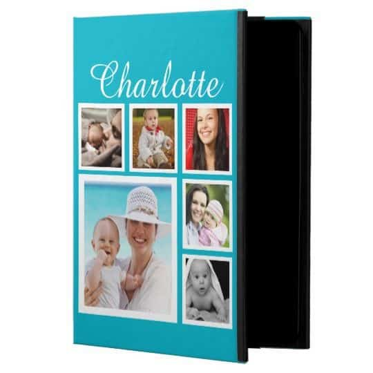 Best Grandparents Day Gifts 2017 - The tech-savvy grandparents will adore an iPad case that features pictures of the grandkids!