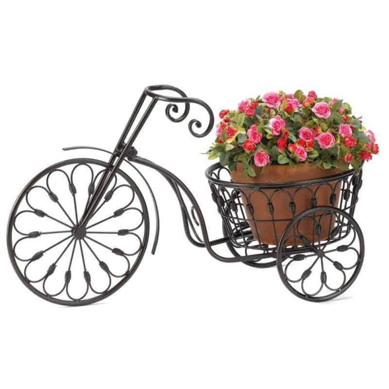 What an adorable plant stand!  Fabulous Mother's Day gift for any woman who enjoys growing flowers.