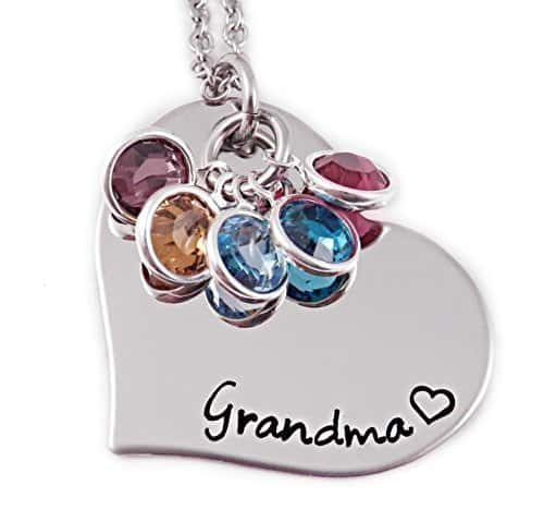 Nana Necklaces - What Nana wouldn't love to wear a personalized necklace with  their grandkids' birthstones?