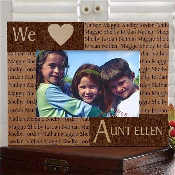 Aunt Picture Frame 11 Photo Frames Your Aunt Will Love