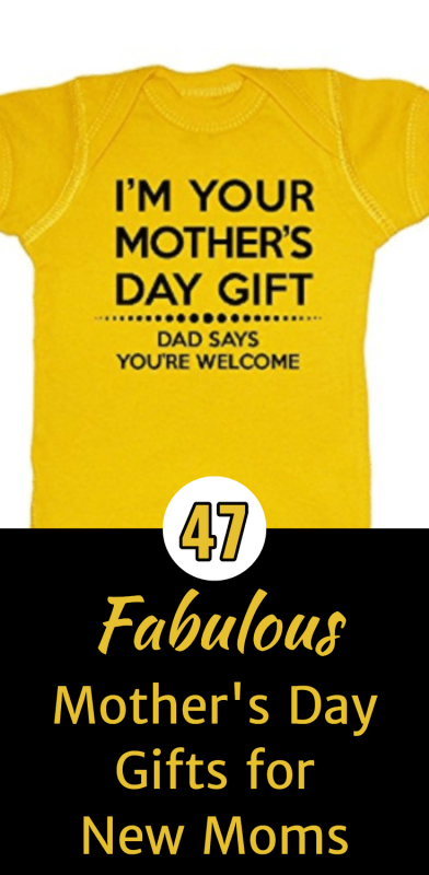 Mother's Day Gifts for New Moms - Looking for an awesome first Mother's Day gift for your daughter or wife? Click to see 47 fabulous 1st Mother's Day gift ideas that will make the new mommy's day memorable! #newmomgift #newmom #1stmothersday #mothersdaygift