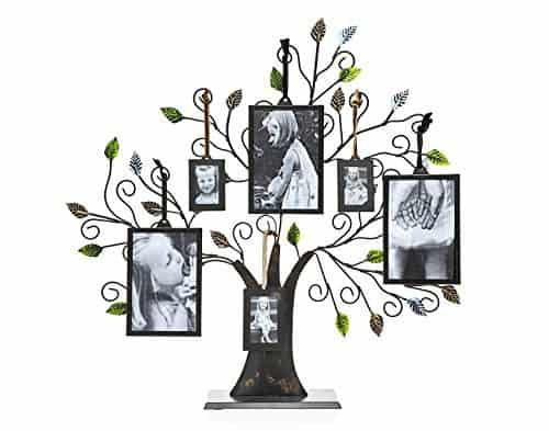 Family Tree of Life Centerpiece with Picture Frames
