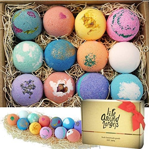 Handcrafted Bath Bombs – Set of 12