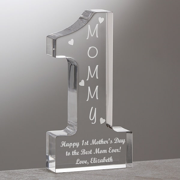 World's Best Mom First Mother's Day Keepsake