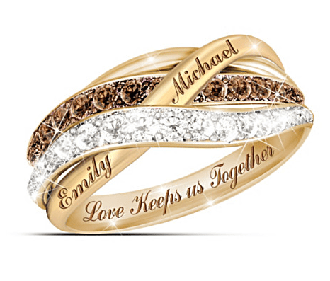 Love Keeps Us Together Diamond Ring